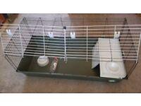 Large double door rabbit cage/hutch