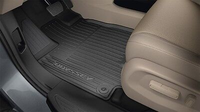 2018 2019 Genuine Honda Odyssey Black All Season Floor Mats 08P17 THR 100