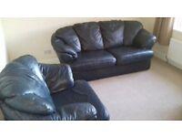 Leather 3 Piece Suite