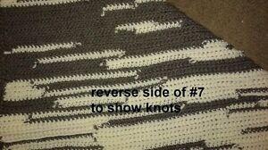 Crocheted Lap/Baby blankets Cornwall Ontario image 8