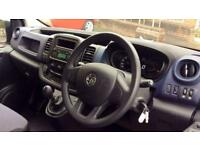 2016 Vauxhall Vivaro 2700 1.6CDTI 95PS H1 Van Manual Diesel Panel Van