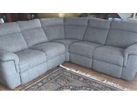 Electric Harveys corner sofa and chair ,5 year warranty