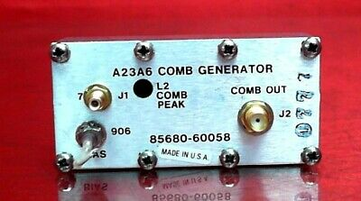 Hp - Agilent - Keysight 85680-60058 A23a6 Comb Generator For 8568 Spectrum Analy