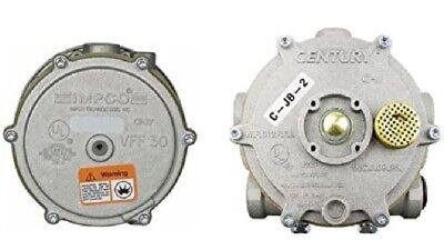 Forklift Propane Gas Jb-2 Vaporizer Regulator Generic Vff30 Impco Lockoff Kit