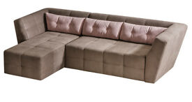 BUENOS - A quirky and modern corner sofa-bed. Delivery available