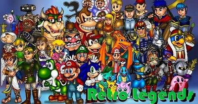 Retro Legends Emulation 6666 Games SNES/N64/MEGADRIVE/MAME/NEOGEO/ATARI v1.2 👾