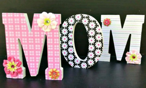 Mothers Day wood letters