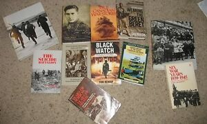 Canadians in WWII - Lot of 11 Books