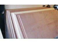 Plywood 5.5mm 9mm 12mm 8x4 sheets