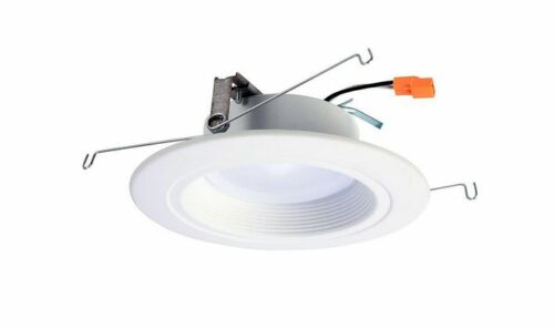 Halo 5 In. & 6 In. Matte White Recessed Retrofit Baffle-trim Led Module F6649~