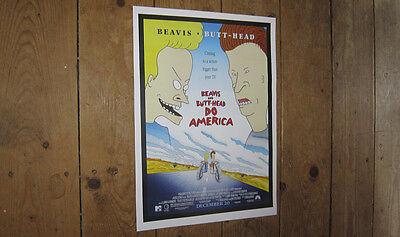 Beavis and Butt Head Do America Repro POSTER