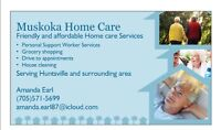 PSW services, house cleaning