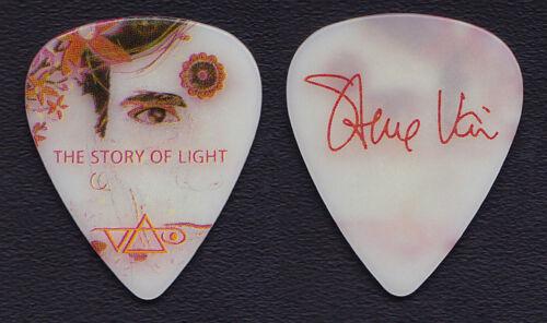 Steve Vai Signature White Guitar Pick - 2012 The Story Of Light Tour