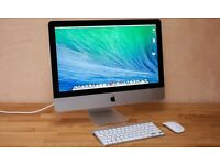 Imac, Intel Core i5, 1.4 GHz, 21.5 inches With Magic Mouse & Apple Keyboard.