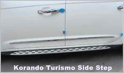 Left  Right Lift Side door Step  For SsangYong Korando Turismo (2012 ~ on)///