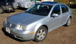 2001 Volkswagen Jetta Sedan sell or trade for 4x4