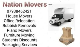 Nationwide Europe Removals Man and Van House Office Piano Furniture Moving packaging Rubbish removal