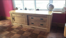 Oak TV Cabinet from Next