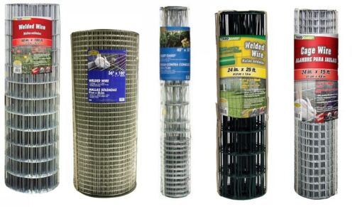 Galvanized Welded Wire Mesh Cage Fence, All Sizes & Gauges FREE SHIPPING