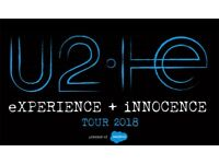 U2 eXPERIENCE + iNNOCENCE Tour 2018 Tickets SWAP Berlin