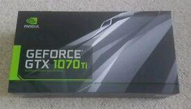 Nvidia Geforce GTX 1070ti Founders Edition 8gb x2