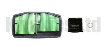 TRIUMPH STREET TRIPLE S 765 2017 2018 GENUINE AIR AND OIL FILTERS