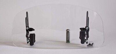 Windscreen deflector FULLY ADJUSTABLE windshield windscreen motorcycle motorbike