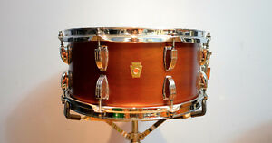 Ludwig Legacy Mahogany 14x6.5 Snare Drum.