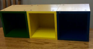 6 Sturdy Magnetic Storage Cubes - St. Thomas