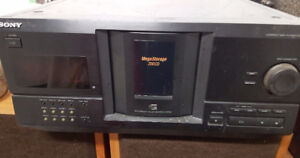 SONY CD PLAYER 200 DISC MEGA STORAGE