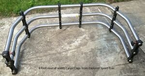 Truck Bed Extender Cargo Cage 4' wide
