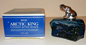 VINTAGE 1976 AVON ARTIC KING NEW IN BOX
