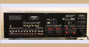 Sony TA AV601 Receiver