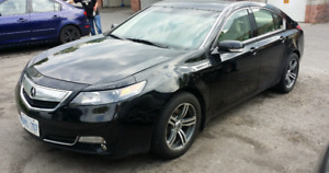 2012 Acura TL with tech package navigation