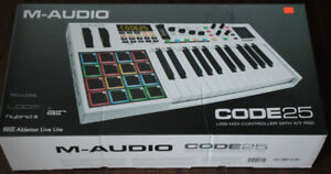 M-Audio Code 25 USB MIDI Controller with X/Y Pad