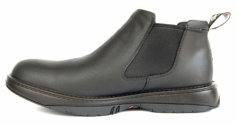 afc65c33597 Details about Redback Work Boots RRBN RETRO, Soft Toe, Black Slip-On. CHEFS  & BAR STAFF!