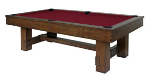 Rustic Pool Tables/Shuffleboards and Bar stools!! NEW IN STOCK
