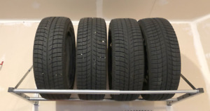 """17"""" X-ICE 4 Winter Tires with rims"""