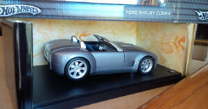 HotWheels Ford Shelby Cobra Die Cast Vehicle 1:18 New In Box