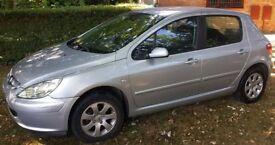 Peugeot 307s, fanatstic car with low mileage ! MOT to June 2019