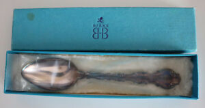 Birk's Pompadour Teaspoon - NEW in BOX