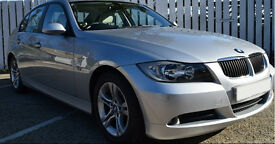 BMW 320d SE Auto Silver 4dr FULL Leather