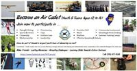 Free Program for Youths ages 12 - 18 years - AIR CADETS