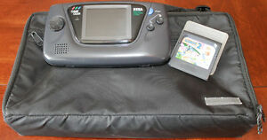 Sega Game Gear w/Case, Game & Accessories - Game Gear Games