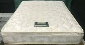 Excellent condition queen mattress for sale (Double-sided Pillow Top)