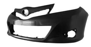 New Painted 2012 2013 2014 Toyota Yaris Hatchback Front Bumper & FREE shipping