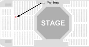 Jay-Z - 2 floor seats!