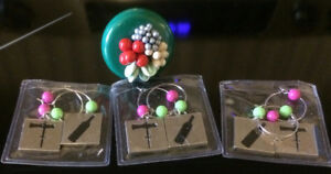 Wine Topper and Charms - New