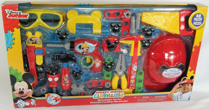 disneys mickey mouse club house 48 piece mousekadoer tool set | toys ...