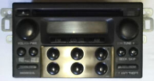 Honda factory AM/FM stereo with CD player